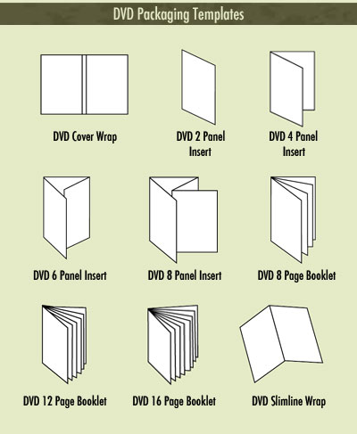 aspen media dvd packaging templates. Black Bedroom Furniture Sets. Home Design Ideas